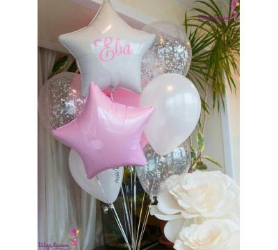 Бело-розовая нежность