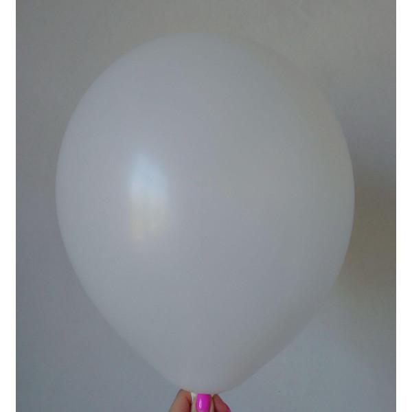 Белый латексный шар, матовый