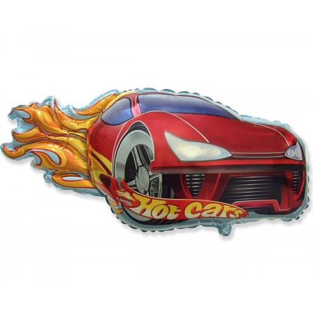 """Большая фольгированная фигура """"Hot cars"""""""