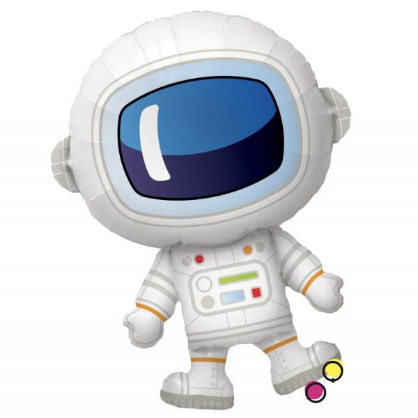 """Большая фольгированная фигура """"Космонавт"""""""