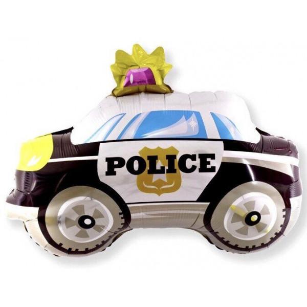 """Большая фольгированная фигура """"Полицейский автомобиль"""""""