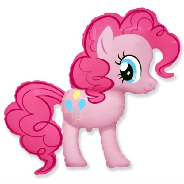"""Большая фольгированная фигура """"Пони Пинки Пай"""""""