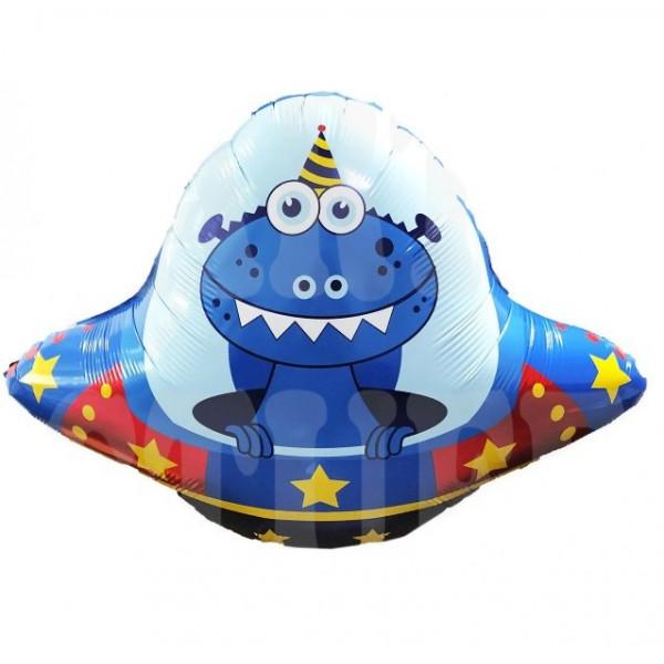 """Большой фольгированный шар """"Летающая тарелка"""""""