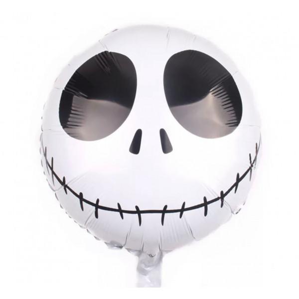 """Фольгированный шар """"Череп с улыбкой"""""""