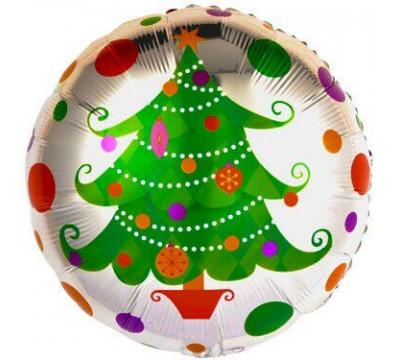 """Фольгированный шар """"Новогодняя елка"""""""