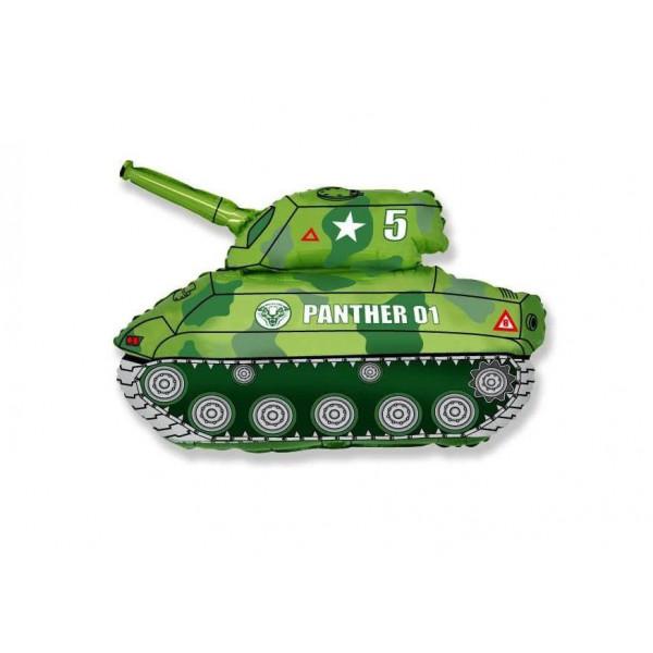 """Фольгированный шар """"Зеленый танк"""""""