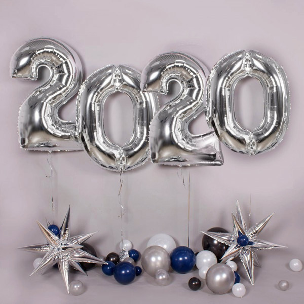 Фотозона на Новый Год с цифрами