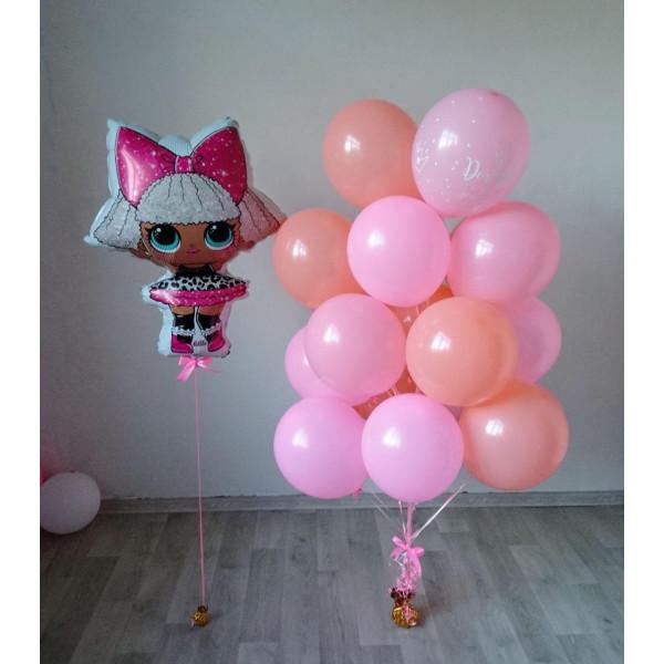 Композиция для девочки с куклой ЛОЛ