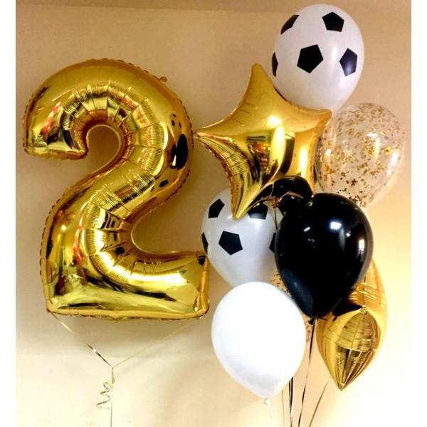 Композиция для юного футболиста на День Рождения