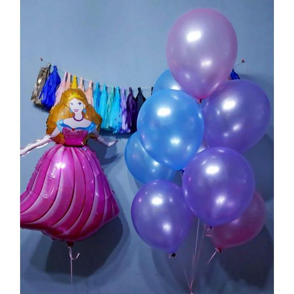 Композиция из шаров для принцессы