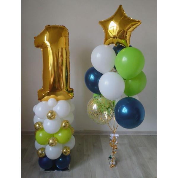 """Композиция на 1 годик """"Наppy Birthday"""""""