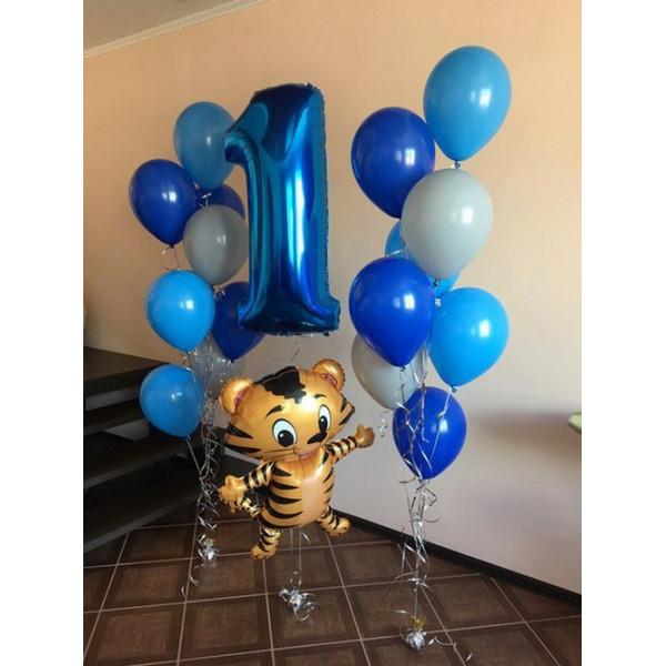 Композиция на 1 годик с тигренком
