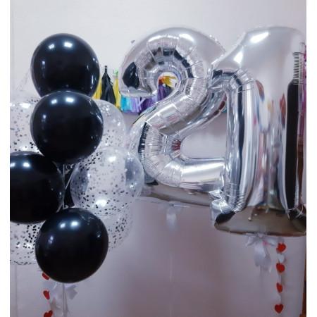 Композиция на 21-й День рождения мужчины