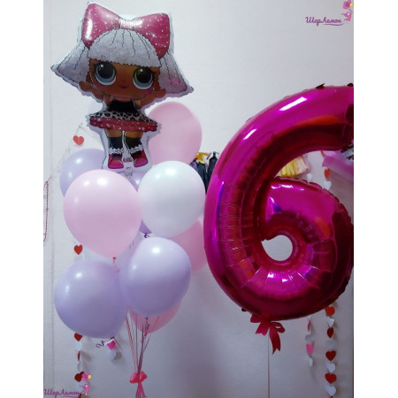 Композиция на 6 лет с куклой Лол
