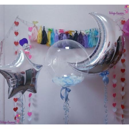 Композиция с полумесяцем и шаром Bubbles