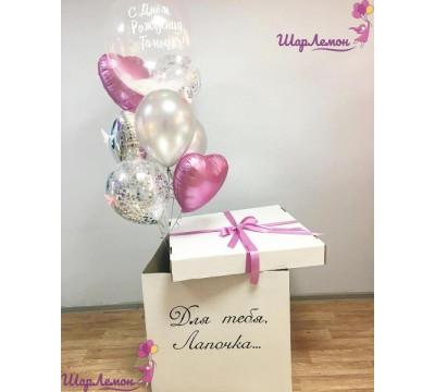"""Коробка-сюрприз """"Для любимой в День рождения"""""""