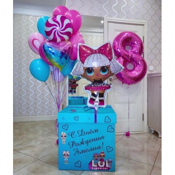 """Коробка-сюрприз """"Куклы LOL"""""""
