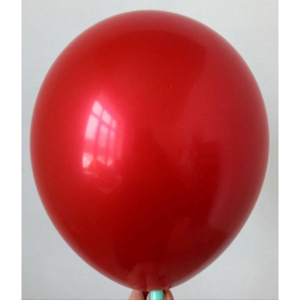 """Латексный шар """"Хром"""", красный"""