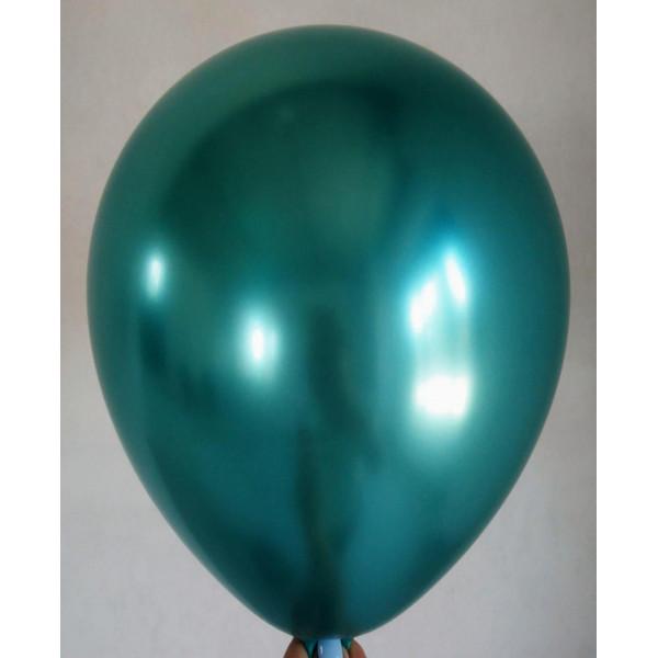 """Латексный шар """"Хром"""", зеленый"""