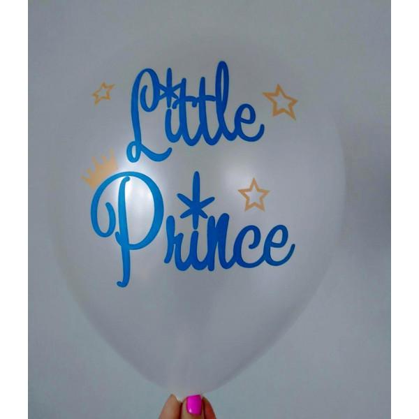 "Латексный шар ""Little Prince"", белый"