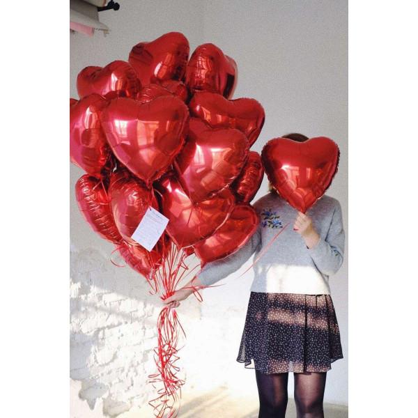 """Набор """"20 красных сердец"""""""