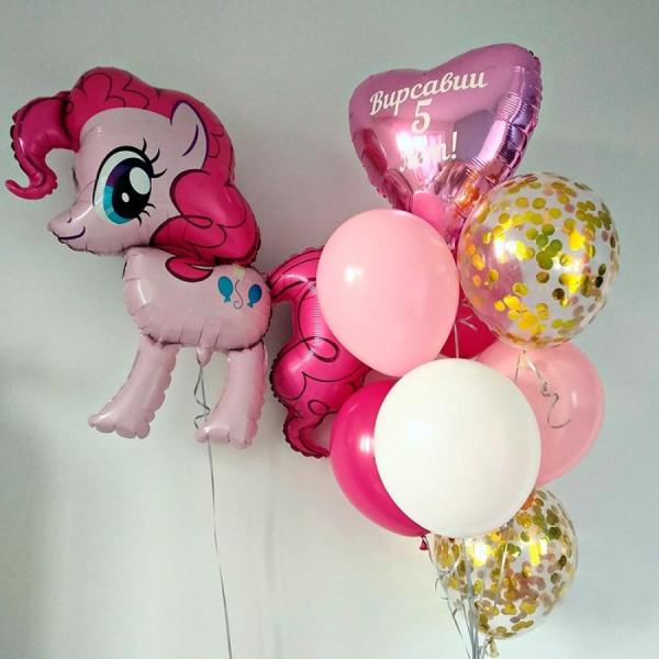 Набор ко Дню Рождения с пони Пинки Пай