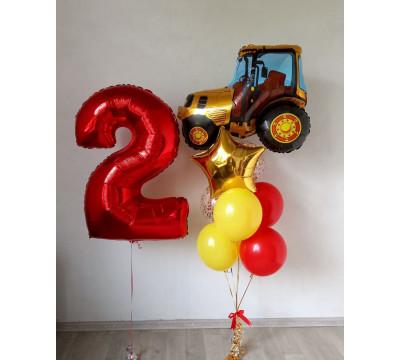 Набор на 2 года с трактором