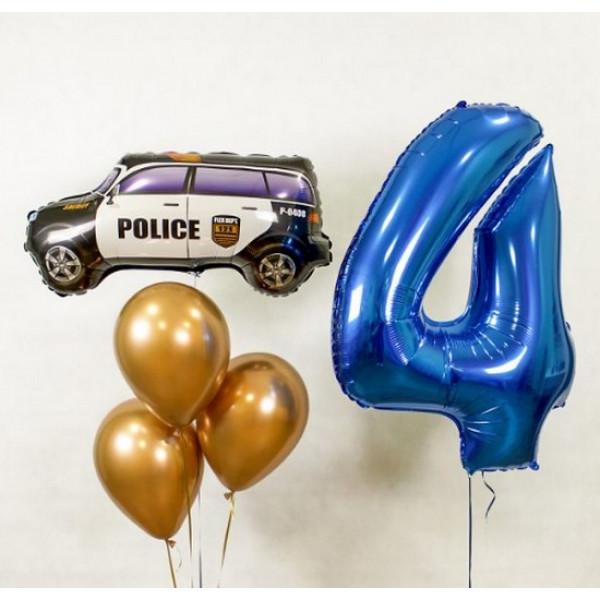 Набор на 4 года с полицейской машиной