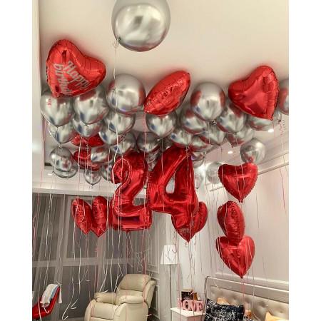 Набор шаров для любимой в День Рождения