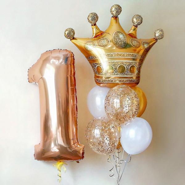 Набор шаров для маленькой принцессы