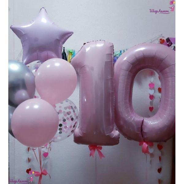 Нежная композиция на 10 лет для девочки