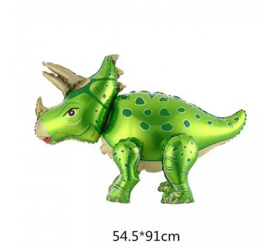 """Стоячая фигура """"Трицератопс"""", зеленый"""