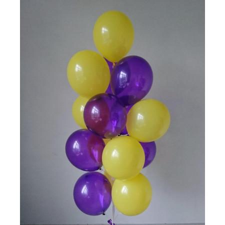 Желто-фиолетовый фонтан