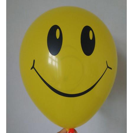 "Желтые гелиевые шары ""Смайлики"""